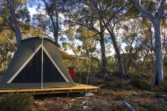 Safari Style Tent Tours